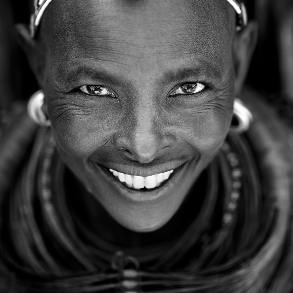 Rendille tribe woman from Turkana - Kenya