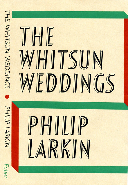 the whitsun weddings The whitsun weddings is a famous poem by philip larkin that whitsun, i was late getting away: not till aboutone-twenty on the sunlit saturday did my three-quarters-empty train pull out,all windows down, all cushions.