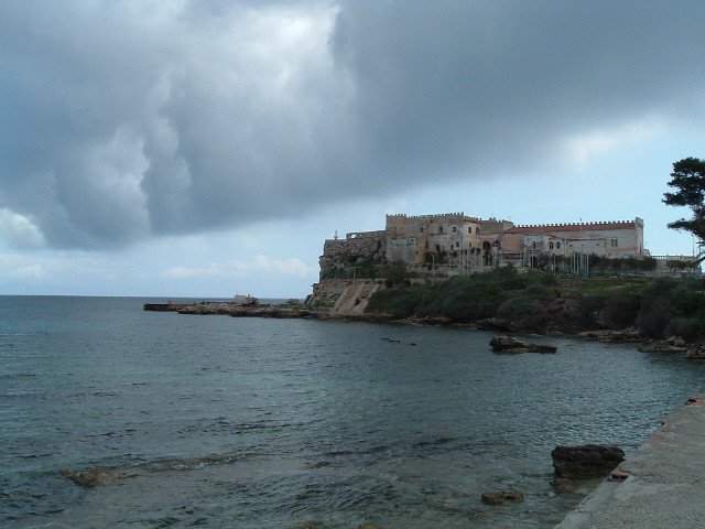 Pianosa, a cloud coming