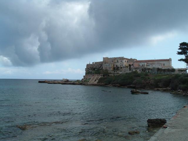 Pianosa, a cloud coming