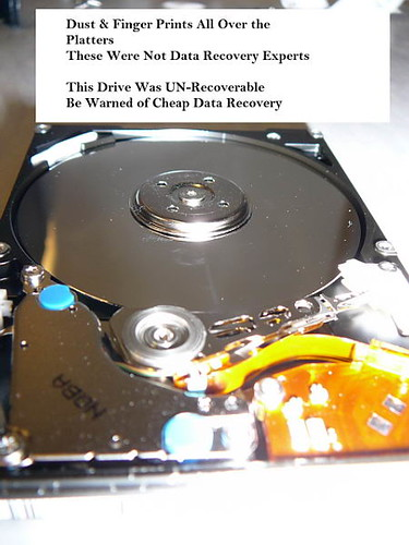Damaged Hard Disk