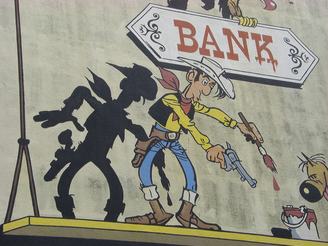 Lucky Luke - faster than his own shadow