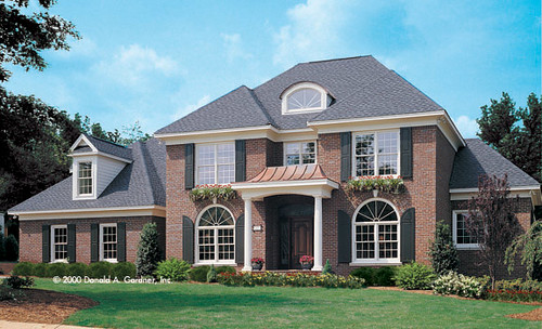 The santerini donald a gardner architects inc for Home planners inc house plans