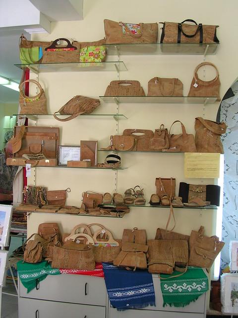 Lagos, Portugal cork bags