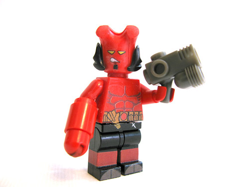 Lego custom halo minifig