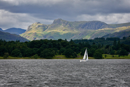 Sailing on Windermere