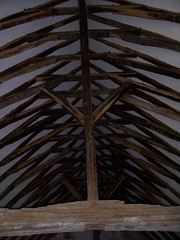 Great roof beams, Old Soar Manor
