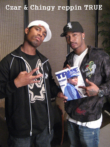 czar & chingy @def jam office in hollywood 2008