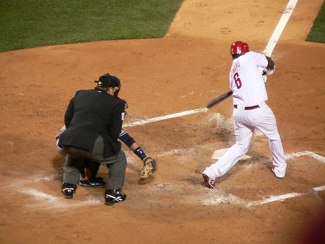 Ryan Howard Swinging Away from Flickr via Wylio
