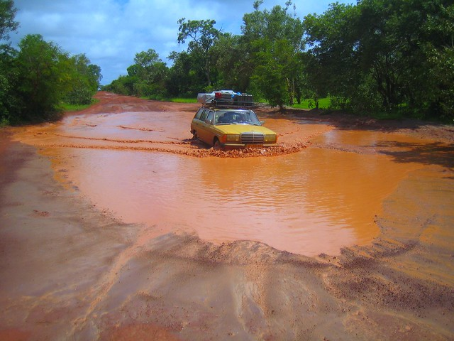 甘比亞雨季