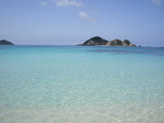 Image of Aharen Beach (阿波連ビーチ) Aharen Beach. sea okinawa 沖縄 海