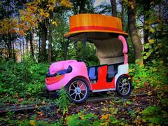 Abandoned kid car (HDR)