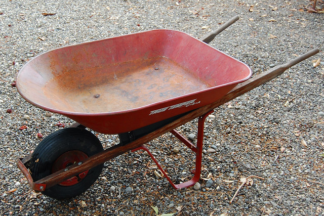 The Old Red Wheelbarrow Flickr Photo Sharing