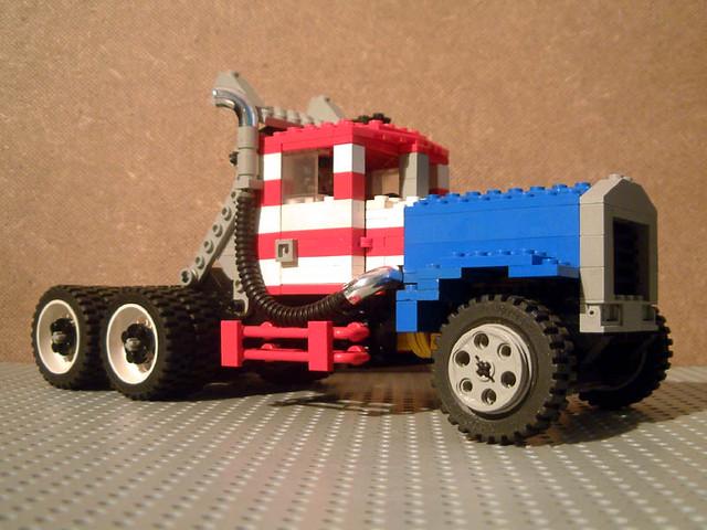 Peterbilt 358 Gatr Race Truck Heavily Modified Peterbilt