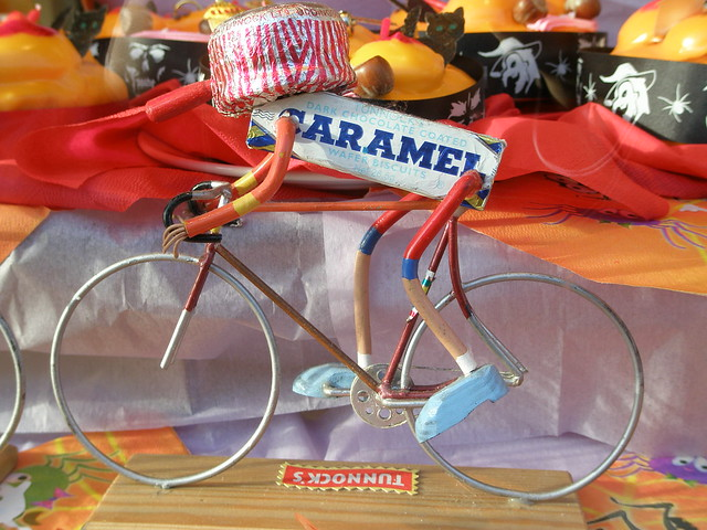 Tunnock's cyclist