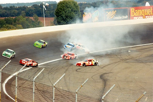 Trouble in Turn 4, Early 90's NASCAR mayhem