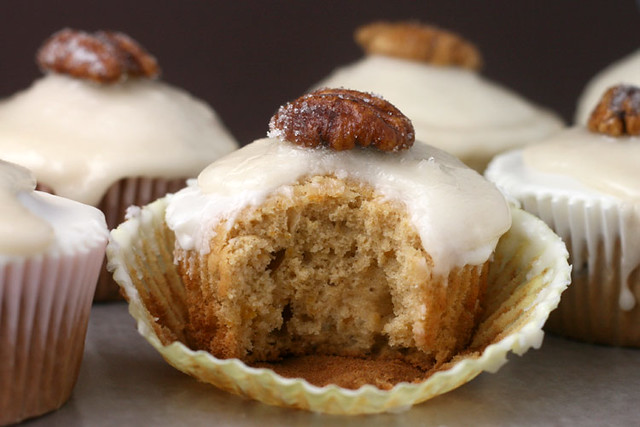Bourbon Sweet Potato Cupcakes | Flickr - Photo Sharing!
