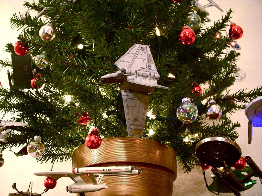 Starship Christmas Tree 12