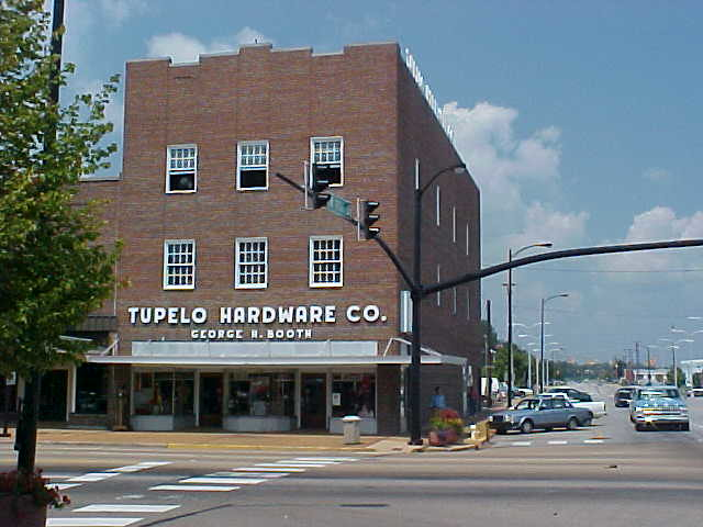 Tupelo Hardware Store East Main St Downtown Tupelo Mississippi
