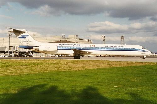 ZAS Airlines of Egypt MD83 SU-DAM