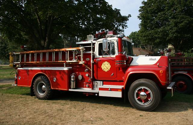 Old Mack Fire Trucks : Vintage mack fire truck flickr photo sharing
