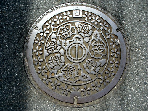 Neyagawa city Osaka pref manhole cover(大阪府寝屋川市のマンホール)