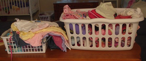 Laundry Baskets Need to be Emptied