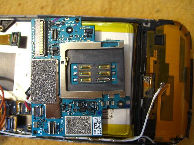 iphone 2g repaired sim card pin