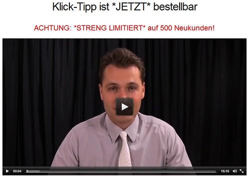 Mario Wolosz über Klick Tipp