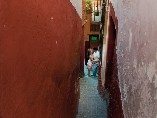 Leyendas de amor, callejón del beso en México