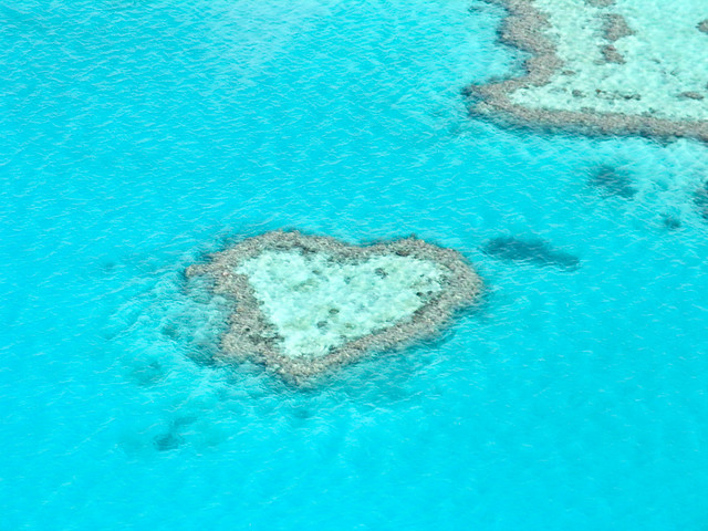 Heart Reef - Great Reef Barrier, Australia