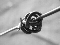 hand(0.0), iron(0.0), knot(1.0), monochrome photography(1.0), close-up(1.0), black-and-white(1.0),