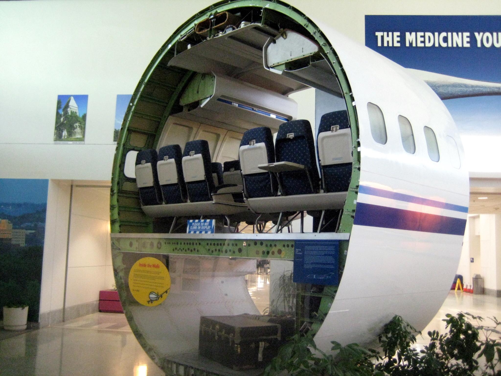 Dark Roasted Blend Abandoned Boeing 747 Restaurant and