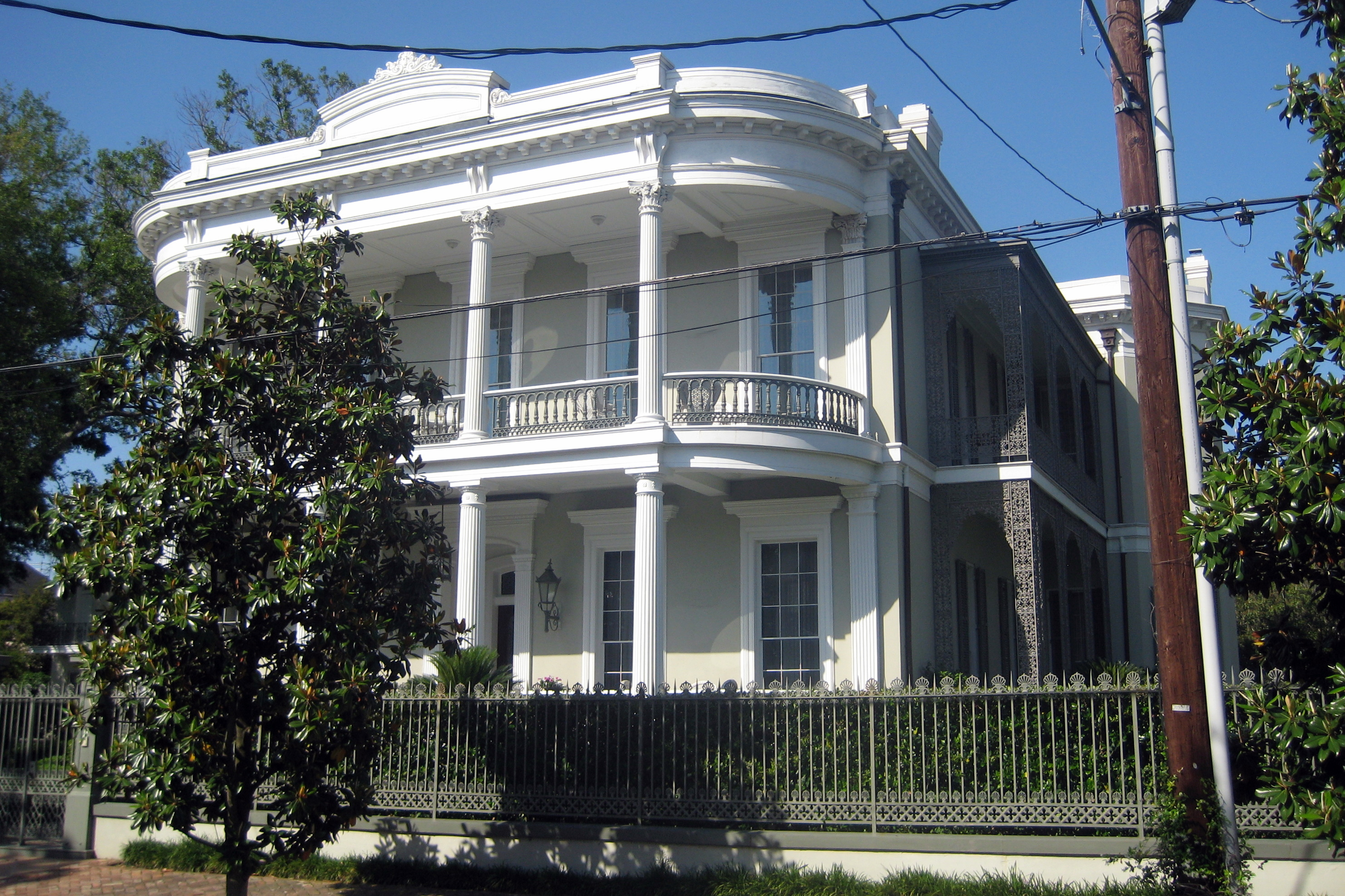 New Orleans Garden District Robinson House Flickr Photo Sharing