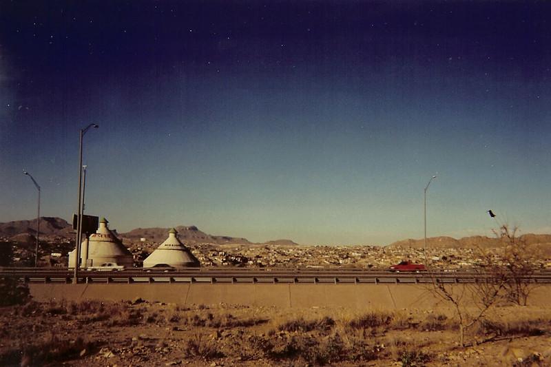 I-10 and Ciudad Juarez, as seen from El Paso, Texas 2