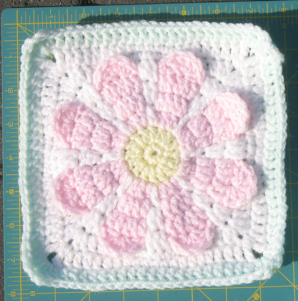 Charity Crochet Patterns : Charity Daisy Crochet Pattern - a photo on Flickriver