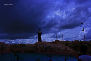 Dramatic Skies at Wonderla
