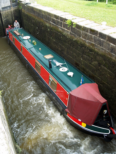Negotiating the lock by Gallery North