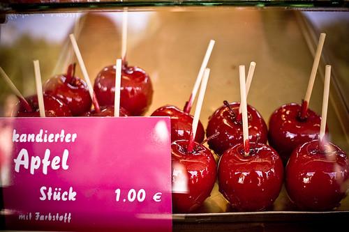 Kandierter Apfel
