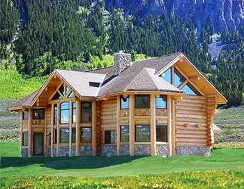 luxurious log home flickr photo sharing