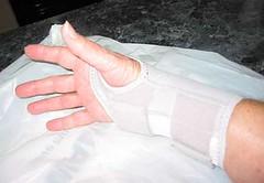 Granny Bird's wrist splint (3 of 3)