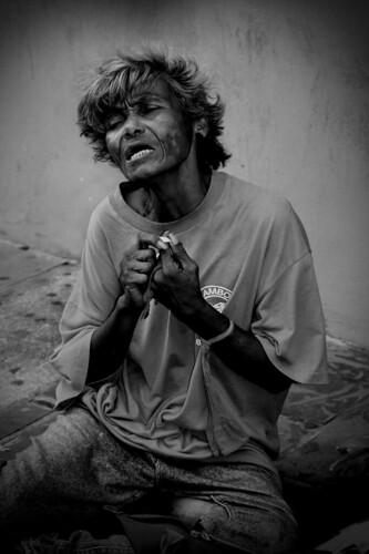 Lamentation of a Drug-Addict