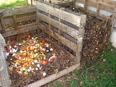 soil, yard, litter, compost, waste,