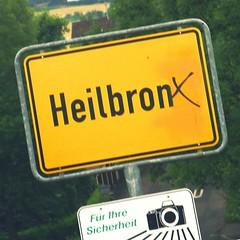 Heilbronn (Baden-Württemberg, Germany): wo ich wohne / where I live / ou j'habite