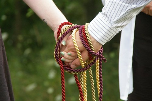 Absolutely No Idea What I Am Doing Handfasting Making The Cord