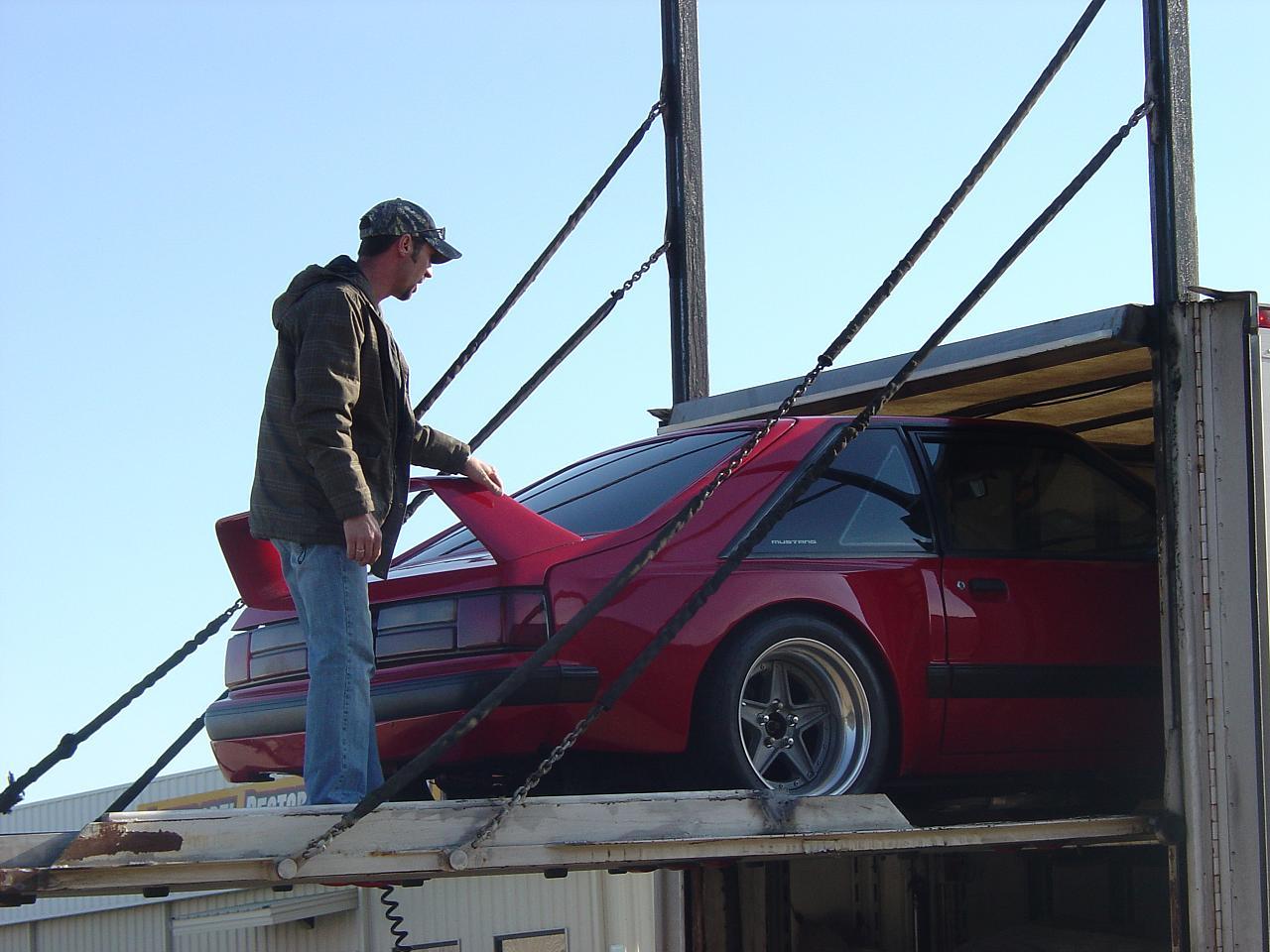 Unloading JBA Dominator GTA From Truck