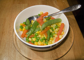 mixed vegetables for dinner