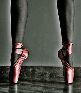 Mi first pointe shoes