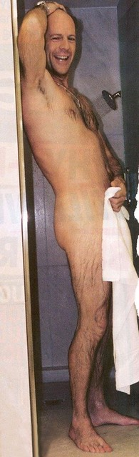 Bruce Willis Nude. Bruce willis in the shower