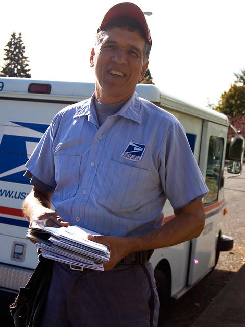 Flashing the mailman